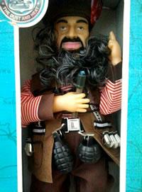 Muñeco Bin Laden encontrado a la venta en Madrid